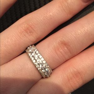 Jewelry - Eternity Band Ring Sterling Silver
